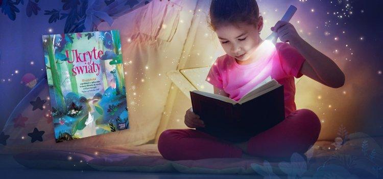 """""""Ukryte światy"""": niezwykła książka stworzona przed dzieci dla dzieci"""