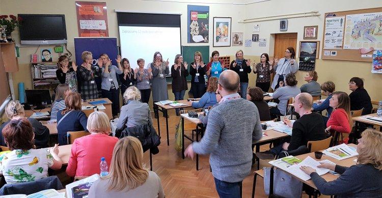 W ramach 27. Konferencji Stowarzyszenia Nauczania Matematyki Nowa Era przygotowała aż pięć warsztatów dla nauczycieli.