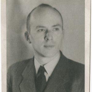 Jan Nowak-Jeziorański po przybyciu do Londynu, fot. ze zbiorów Ossolineum