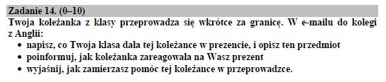 Źródło: Arkusz egzaminacyjny CKE 2020, zadanie 14