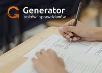 WEJDŹ NA generator.dlanauczyciela.pl