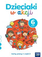 Dzieciaki w akcji 6-latki cz. 2 Karty pracy