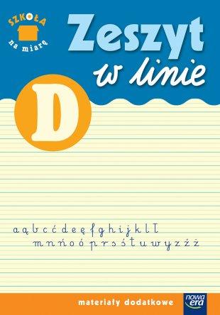 Zeszyt w linie D