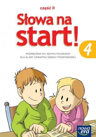 Słowa na start! Klasa 4, część 2