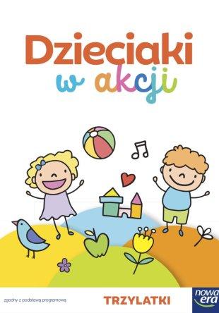 Dzieciaki w akcji. 3-latki – zestaw dla dziecka