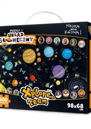 Puzzle Xplore Team Układ Słoneczny 300