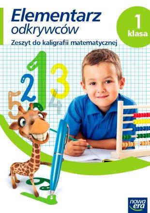 Elementarz odkrywców. Klasa 1, Ćwiczenia do kaligrafii matematycznej