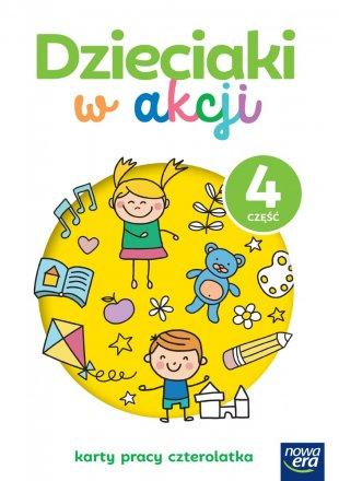 Dzieciaki w akcji. 4-latki. Karty pracy, część 4