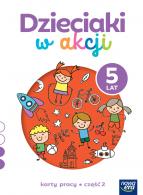 Dzieciaki w akcji  5-latki cz. 2 Karty pracy