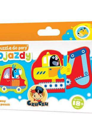 CzuCzu Puzzle do pary Pojazdy