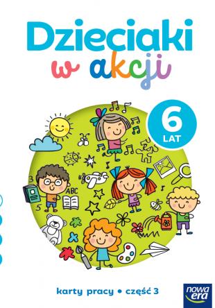 Dzieciaki w akcji  6-latki cz. 3 Karty pracy