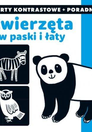 Kapitan Nauka Zwierzęta w paski i łaty Karty kontrastowe + poradnik