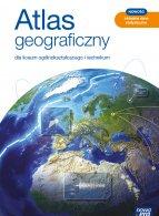 Atlas geograficzny dla liceum ogólnokształcącego i technikum.