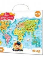 CzuCzu Puzzle Mapa świata 168