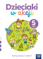 Dzieciaki w akcji. 5-latki. Karty pracy, część 3