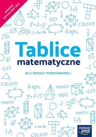 Tablice matematyczne dla szkoły podstawowej
