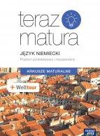 Teraz Matura 2019. Język niemiecki  Arkusze maturalne. Poziom podstawowy i rozszerzony.