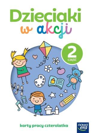 Dzieciaki w akcji. 4-latki. Karty pracy, część 2