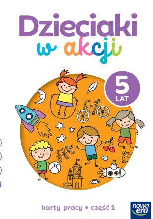 Dzieciaki w akcji  5-latki cz. 1 Karty pracy