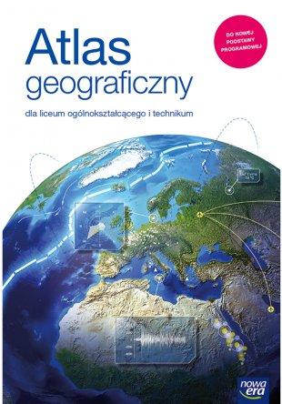 ZABLOKOWANE NIE WŁĄCZAĆ Atlas geograficzny dla szkół ponadpodstawowych