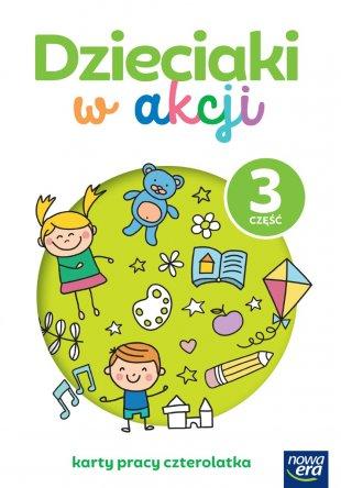 Dzieciaki w akcji. 4-latki. Karty pracy, część 3
